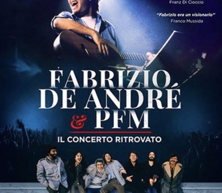 Il concerto ritrovato De André & PFM di Veltroni. Emozioni e acetosella