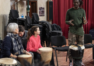 Percussionando, Ismaila Mbaye dura