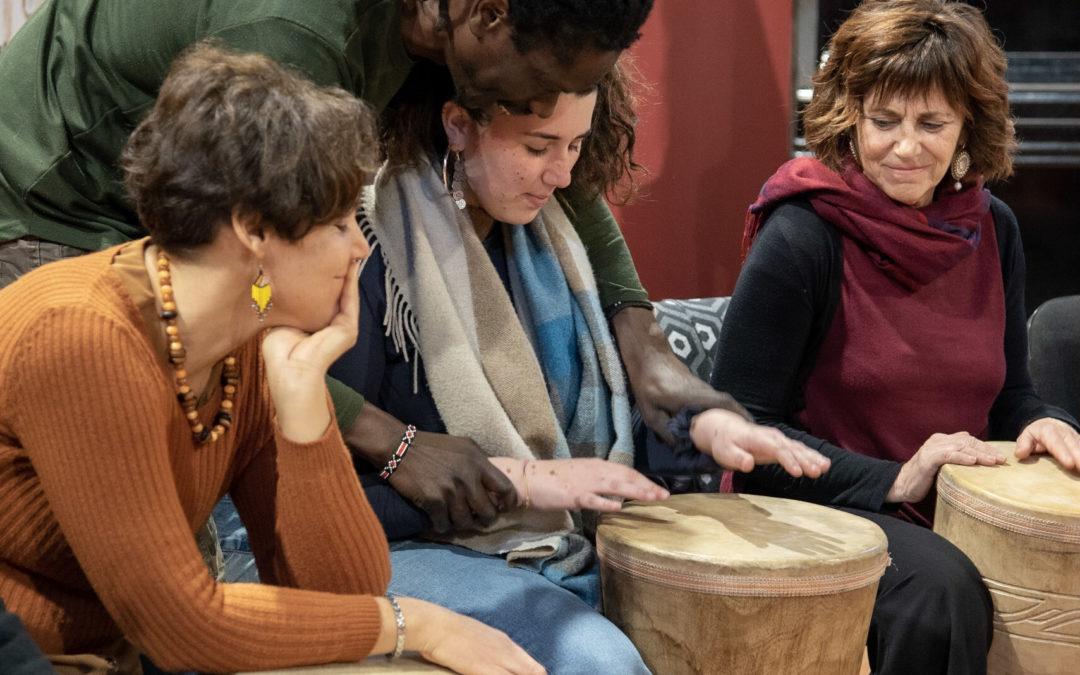 Il laboratorio di percussioni Percussionando