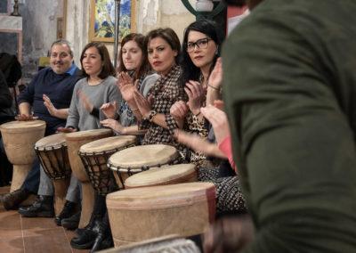 20200229_171025 Ph Salvo Gravano Percussionando con Kati Daniela