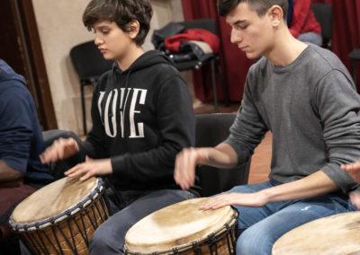 20200229_171424 Ph Salvo Gravano Percussionando Paolo Gravano e Gabriele