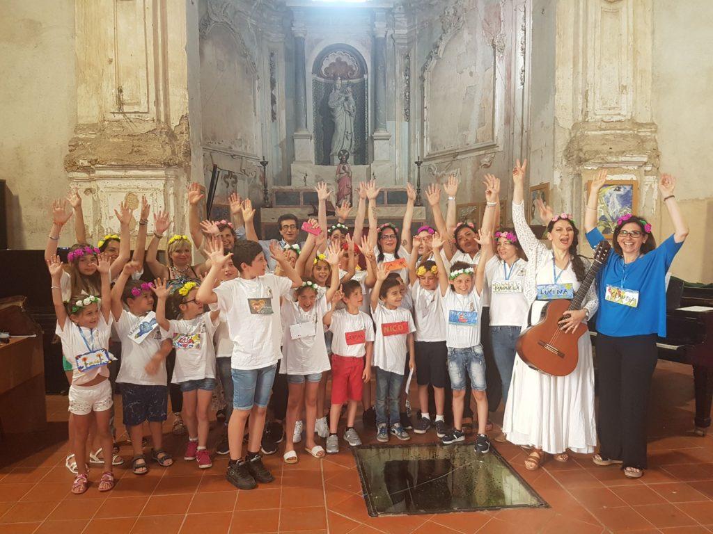 Festa di fine anno coi bambini al Parco del Sole con Lucina Lanzara
