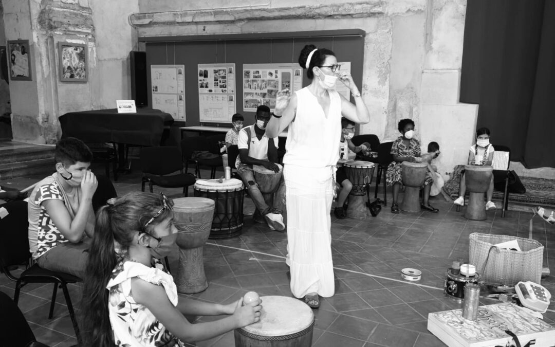 COVID-19: il Drum Circle in sicurezza