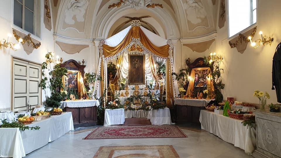 Altare di San Giuseppe alla Chiesa di San Francesco di Paola a Palermo