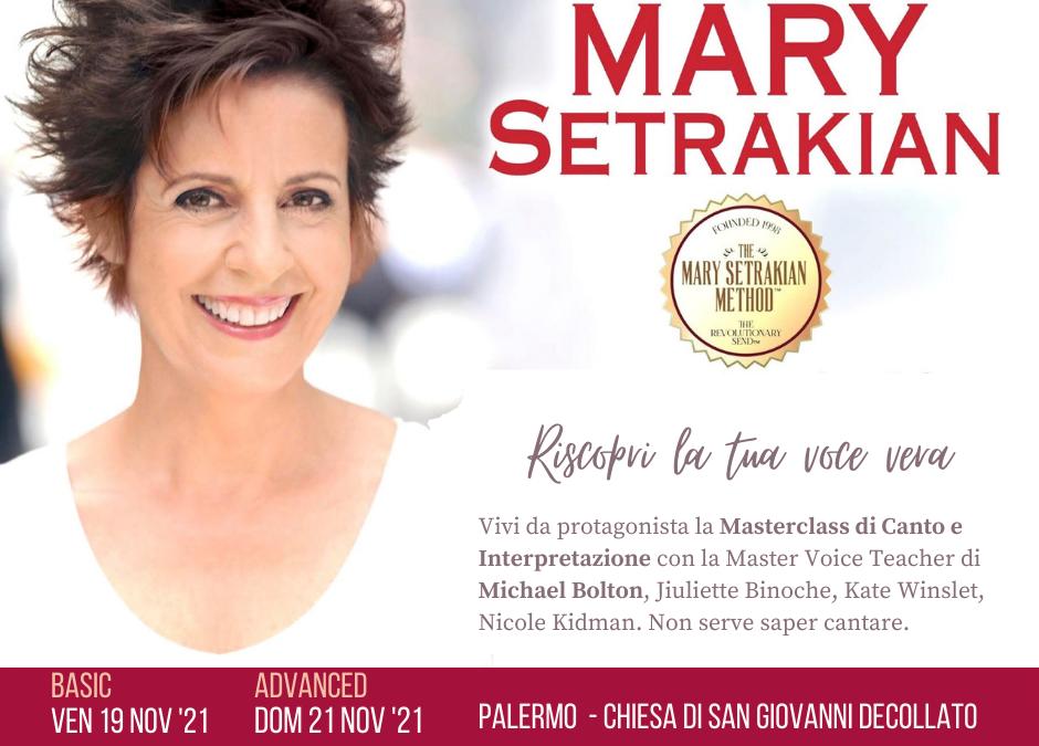La voce vera, Masterclass  con Mary Setrakian