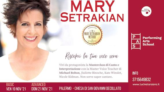 La voce vera: masterclass con Mary Setrakian